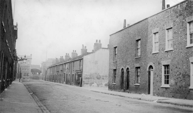Havannah St, looking west towards West Ferry Rd. (Photo: Island History Trust)