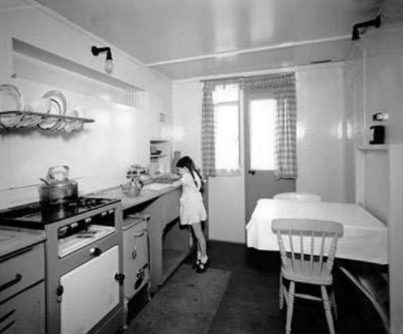 1945 kitchen