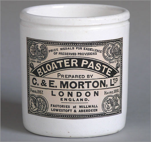 Bloater Fish Paste Jar