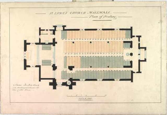 St Lukes Church Seating Plan