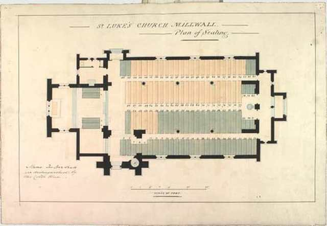 St Lukes Church Seating Plan