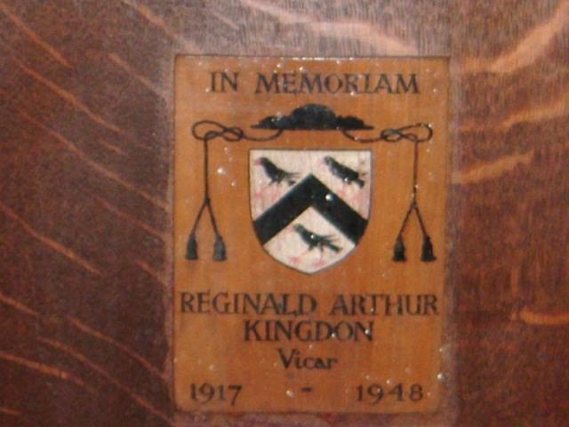 St John's Church Memorial now in Christ Church 15591327956