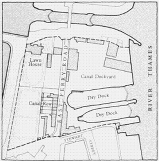 canal row