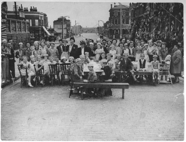Cornonation Street Party, 1953, Glen Terrace 21166658200