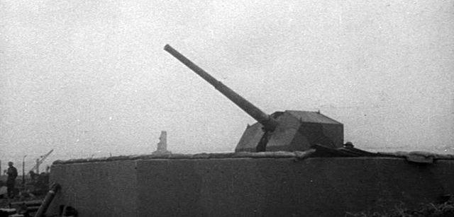 Anti-Aircraft Installation, Mudchute, Isle of Dogs 15071823192