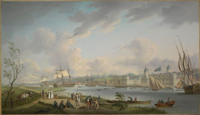 Greenwich from the Isle of Dogs by Dodd BHC3867