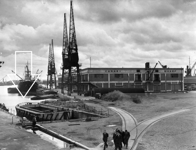 1950s Canary Wharf West India Docks (14)